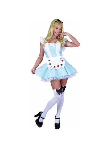 Adult Sexy Alice in Wonderland Costume-COSTUMEISH