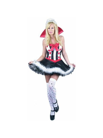 Adult Sexy Queen Of Hearts Costume
