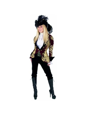 Adult Elegant Pirate Lady Costume