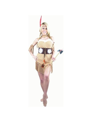 Adult Sexy Tan Indian Princess Costume