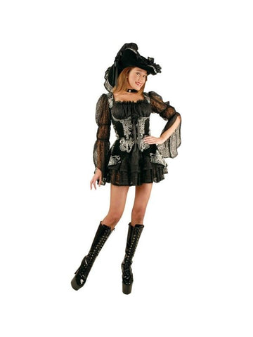 Teen Lacey Pirate Costume