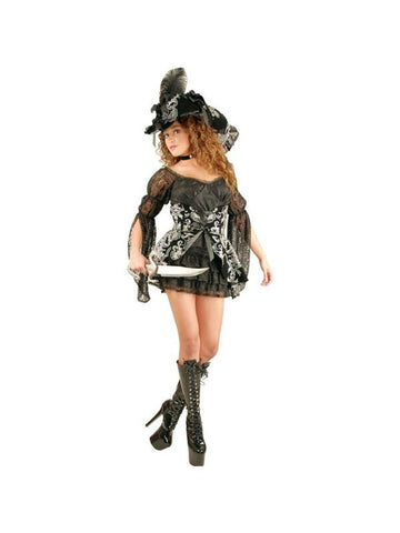Adult Sexy Classic Lacey Pirate Costume