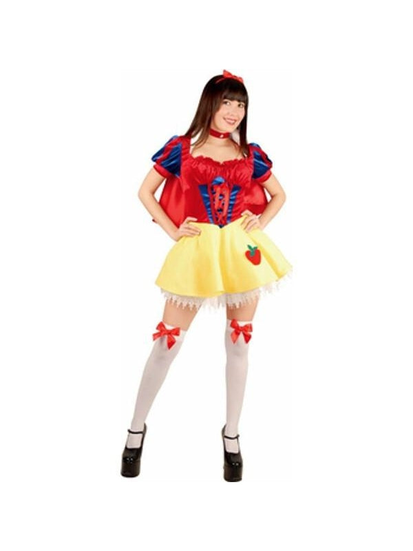 Teen Sexy Snow White Costume-COSTUMEISH