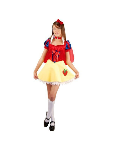 Preteen Snow White Costume Dress-COSTUMEISH