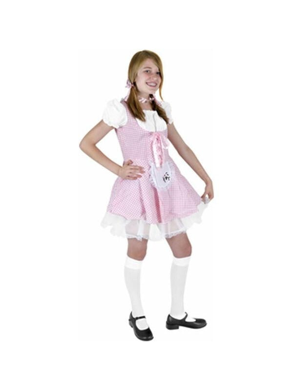 Preteen Little Miss Muffet Costume-COSTUMEISH