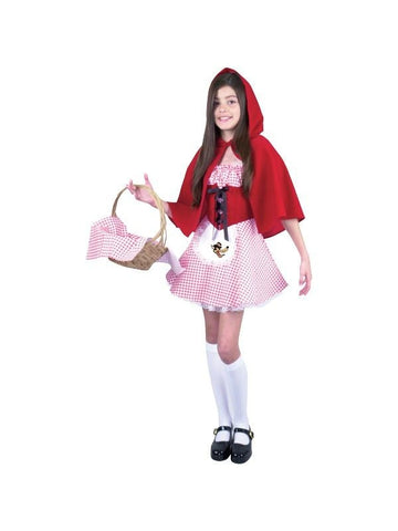 Child's Short Little Red Riding Hood Costume