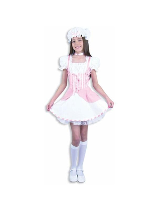Child's Pink Little Bo Peep Costume-COSTUMEISH