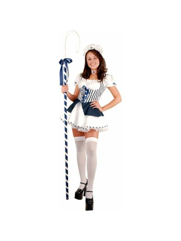 Teen Blue Little Bo Peep Costume-COSTUMEISH