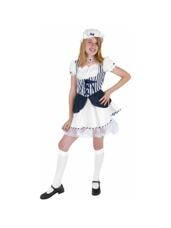 Preteen Blue Little Bo Peep Costume-COSTUMEISH