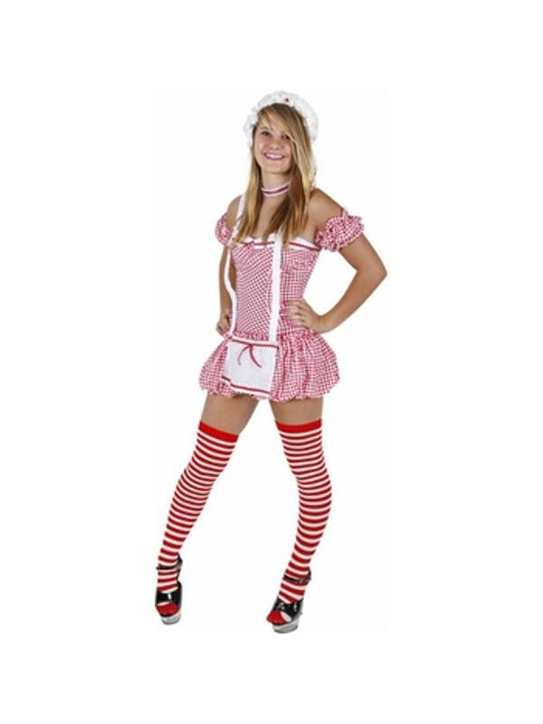 Teen Sexy Ragged Doll Costume-COSTUMEISH