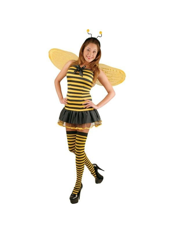 Teen Sexy Bee Costume-COSTUMEISH