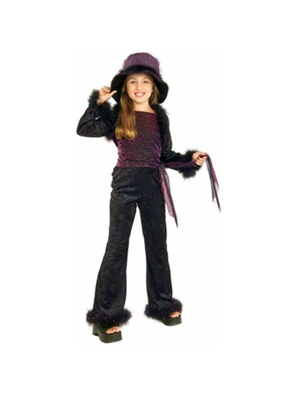 Child's Chic Diva Girl Costume-COSTUMEISH