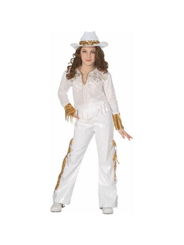 Childs Country Western Diva Costume-COSTUMEISH
