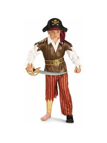 Child's Peg Leg Pirate Costume