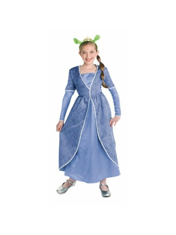 Child's Princess Fiona Costume Gown-COSTUMEISH