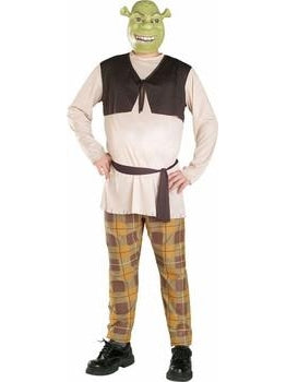 Adult Mens Plus Size Shrek Costume-COSTUMEISH