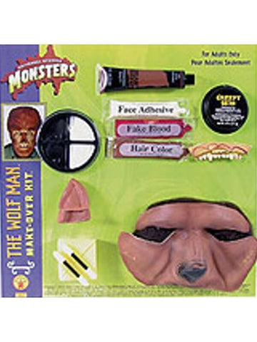 Official Wolfman Make Up Kit-COSTUMEISH