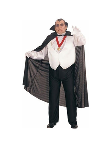 Adult Plus Size Dracula Costume-COSTUMEISH