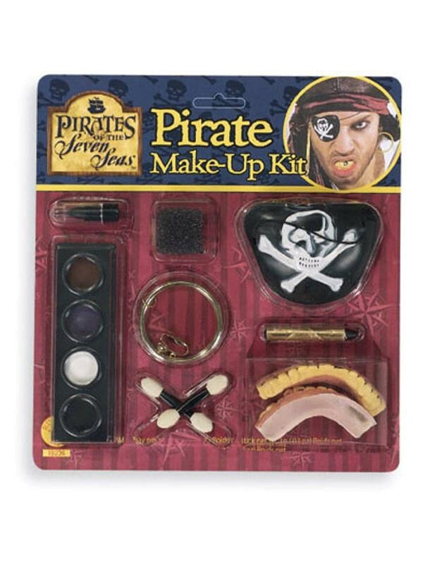 Pirate Add On Make Up Kit-COSTUMEISH