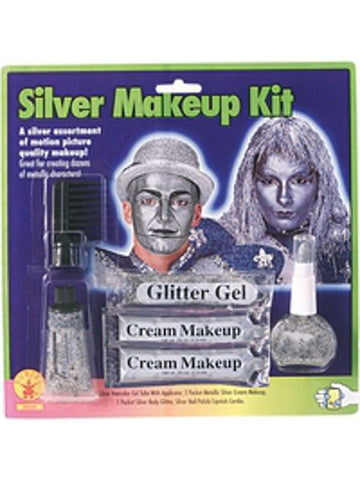 Silver Make Up Kit