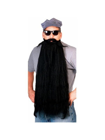 ZZ Top Rock Star Costume Wig-COSTUMEISH