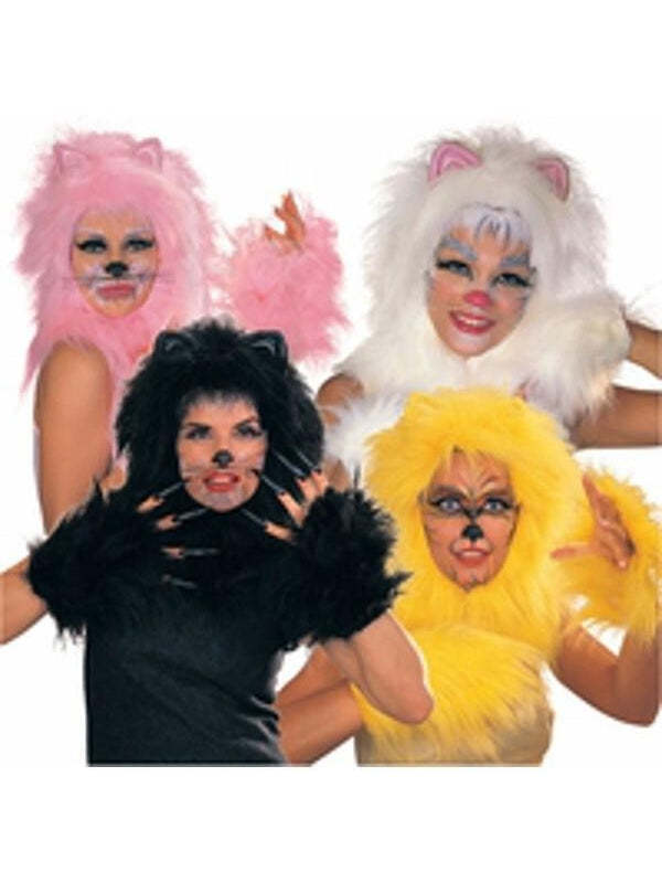 Pink Cat Musical Costume Wig-COSTUMEISH