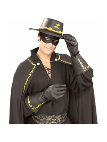 Adult Zorro Gloves-COSTUMEISH