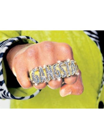 Gangsta Ring Costume Prop