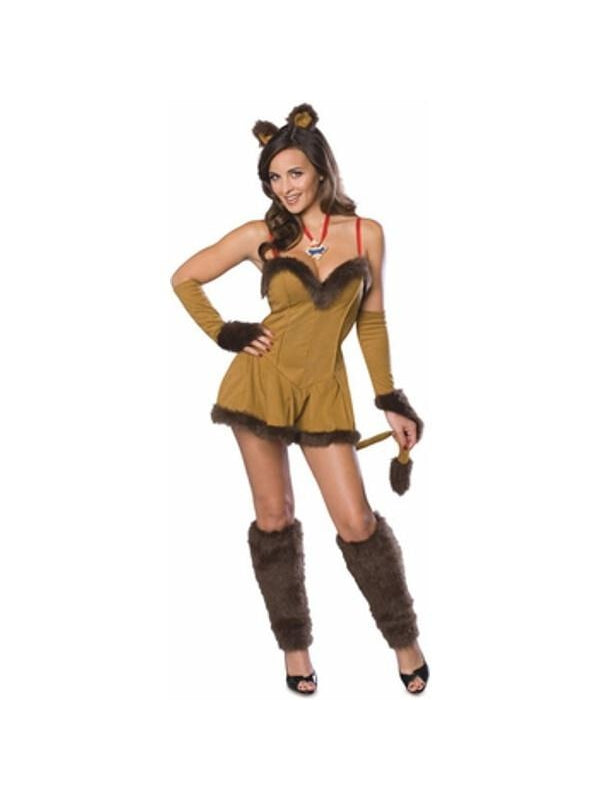 Adult Sexy Lion Costume-COSTUMEISH
