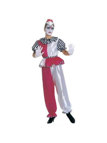 Adult Female Clown Costume