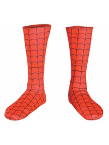 Adult Spider Man Costume Boot Covers-COSTUMEISH