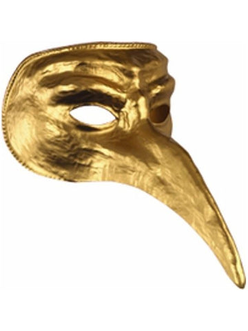 Gold Venetian Mask-COSTUMEISH