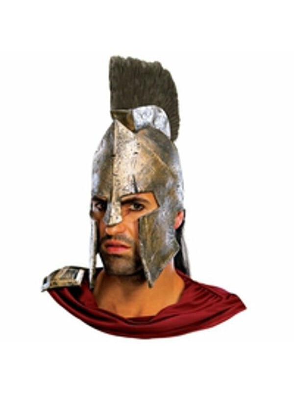 King Leonidas Headpiece Helmet-COSTUMEISH