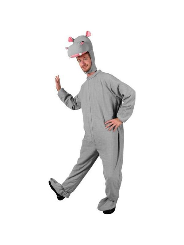 Adult Hippo Costume-COSTUMEISH