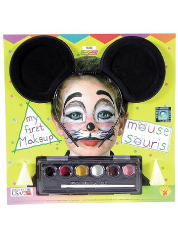 Childs Mouse Ears & Makeup Kit-COSTUMEISH