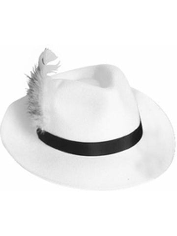 White Godfather Hat-COSTUMEISH