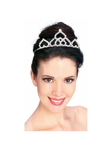 Medium Rhinestone Tiara-COSTUMEISH