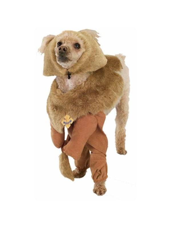 Cowardly Lion Dog Costume-COSTUMEISH