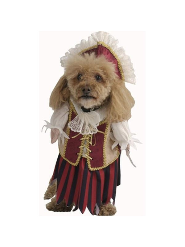 Female Pirate Dog Costume-COSTUMEISH