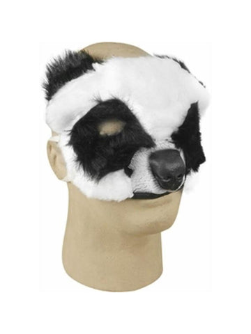 Plush Panda Bear Costume Face Mask-COSTUMEISH