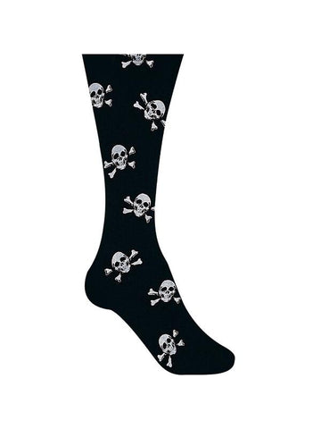 Child's Pirate Skull Costume Tights-COSTUMEISH