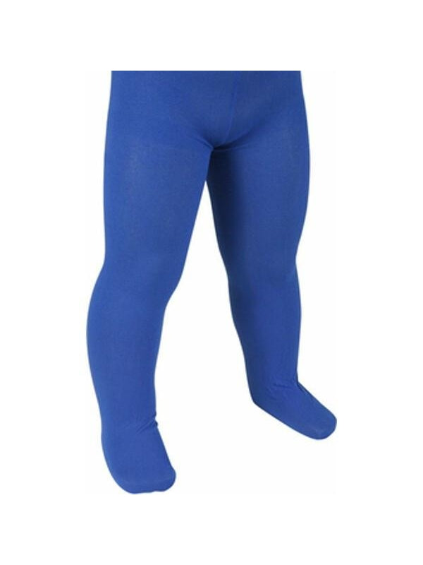 Child's Solid Blue Tights-COSTUMEISH