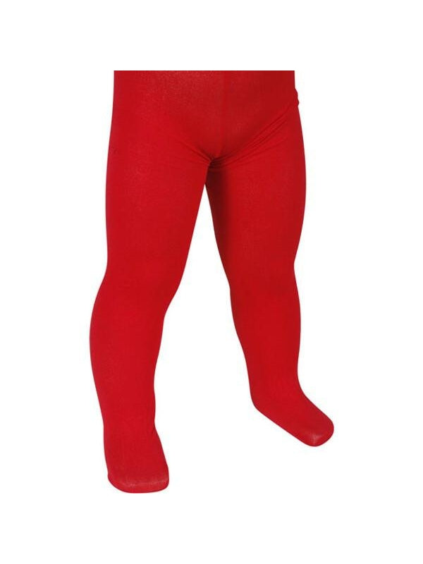 Child's Solid Red Tights-COSTUMEISH