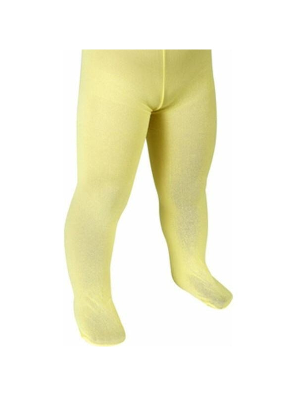 Childs Solid Yellow Tights-COSTUMEISH