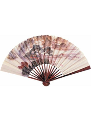 Hand Held Paper Fan-COSTUMEISH