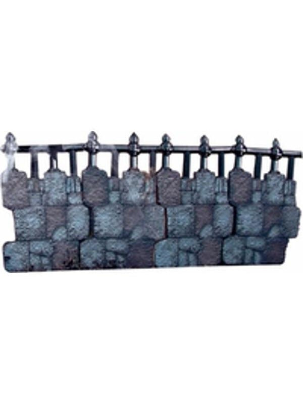 Fake Iron Cemetery Fence Kit-COSTUMEISH