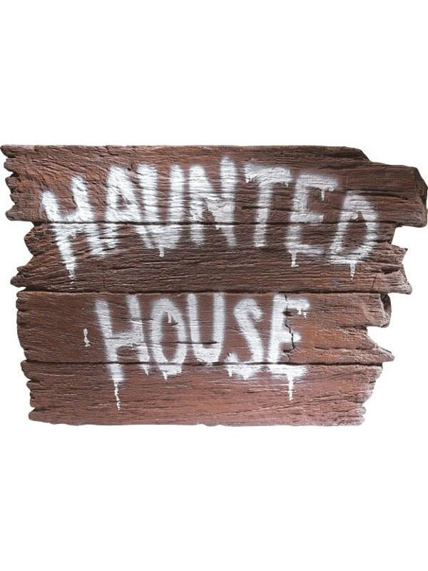 Haunted House Wall Plaque-COSTUMEISH