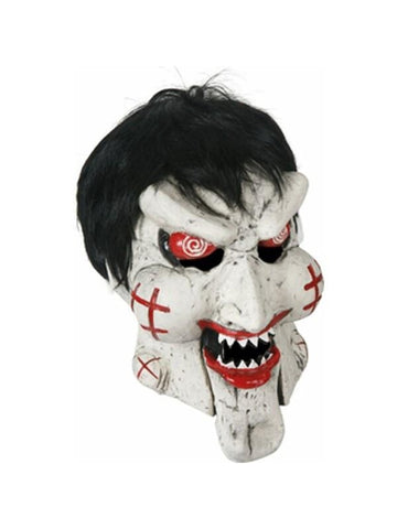 Deluxe Horror Puppet Costume Mask-COSTUMEISH