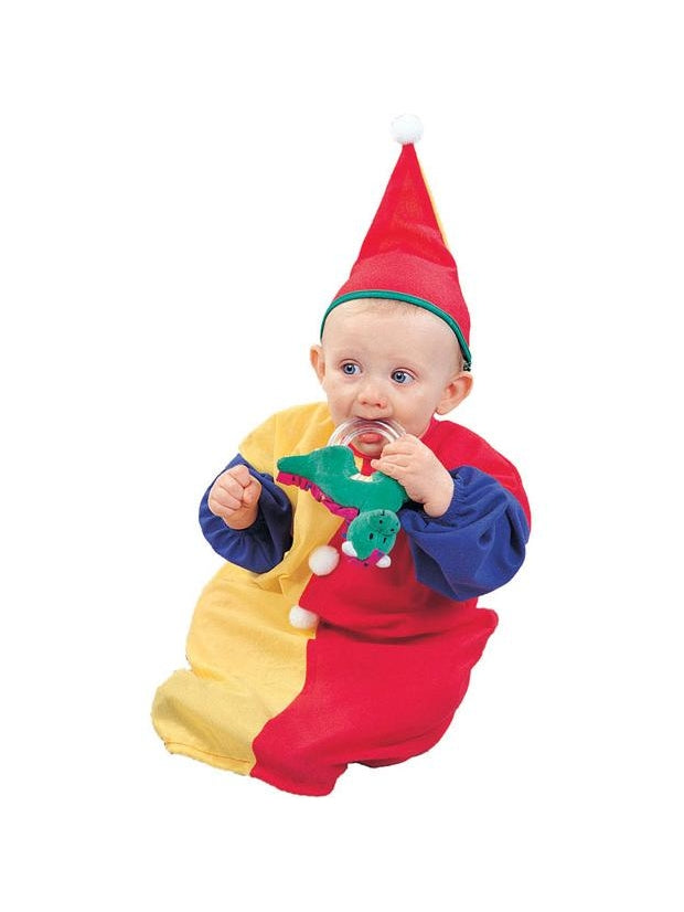 Baby Colorful Clown Costume-COSTUMEISH