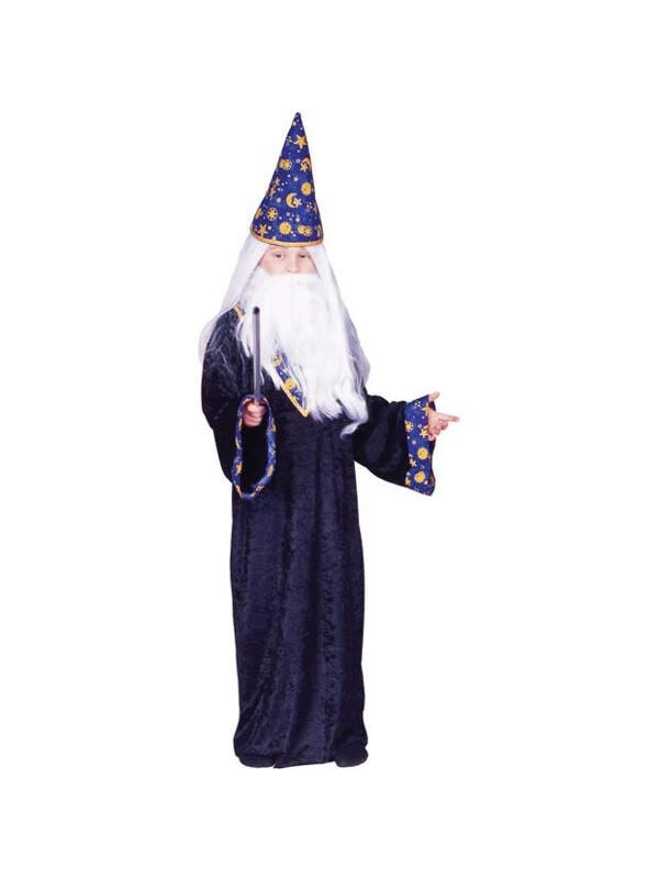 Child Black Magic Wizard Costume-COSTUMEISH